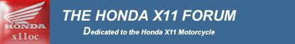 The Honda x11 Owners Club